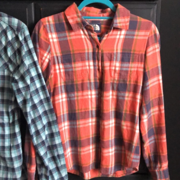 The North Face Tops - North face Flannel